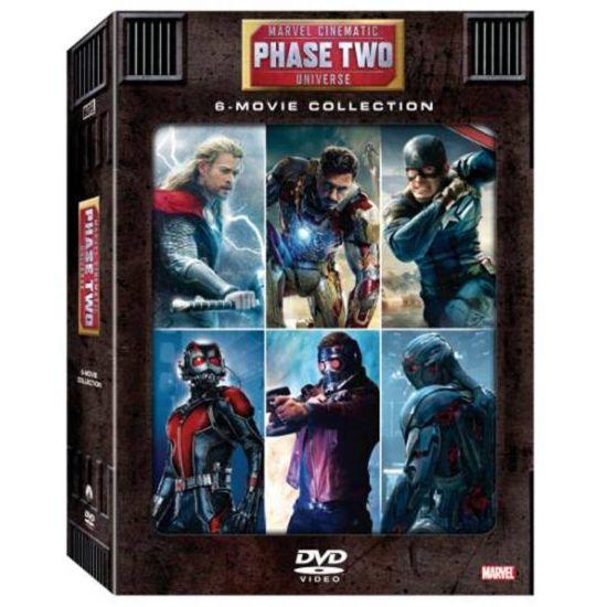 漫威電影世界 第三階段大合集-2 DVD