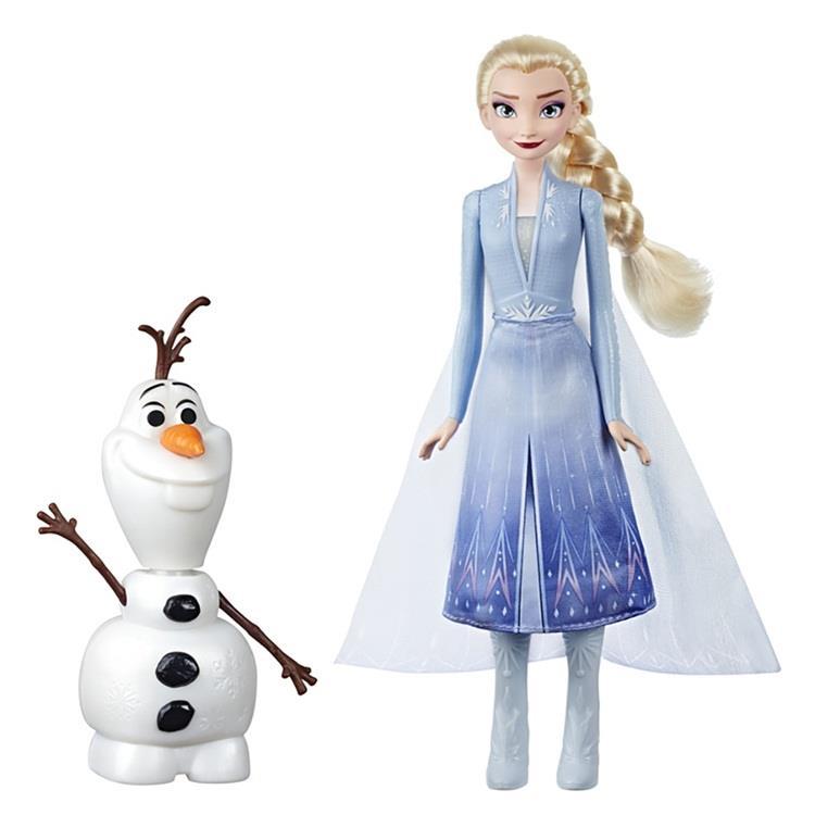 《 Disney 迪士尼》冰雪奇緣2艾莎與雪寶人物組