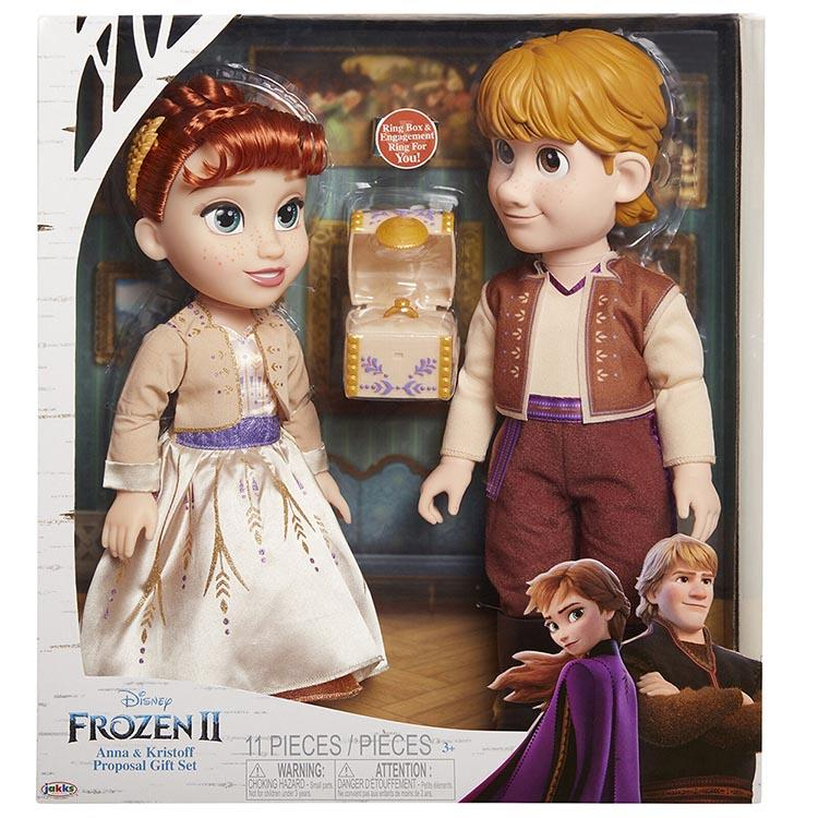 《 Disney 迪士尼》安娜&阿克2人組