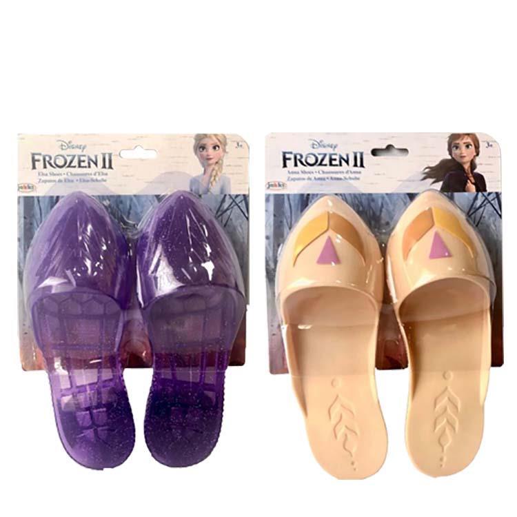 《 Disney 迪士尼》造型套組-公主鞋 紫色/米色