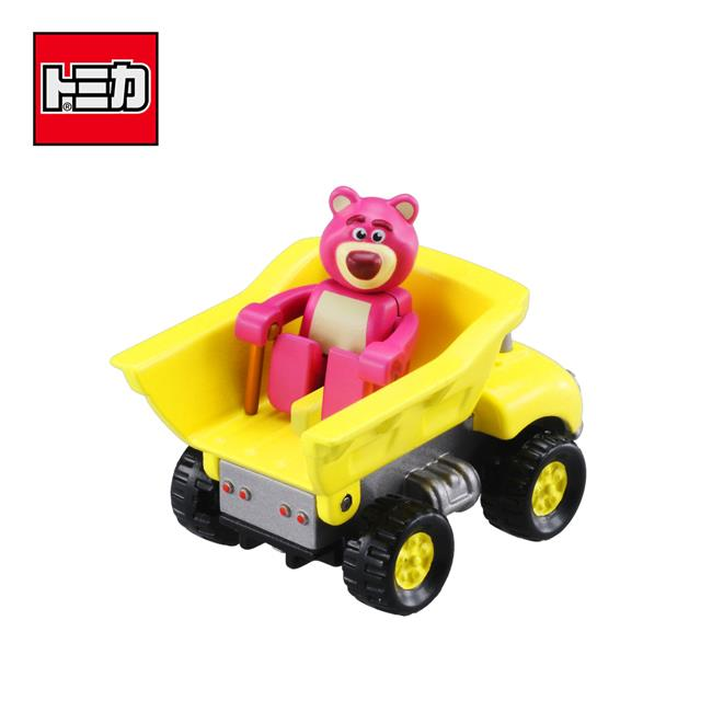 TOMICA 騎乘系列 TS-07 熊抱哥 x 卡車 玩具總動員 皮克斯 多美小汽車