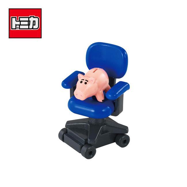 TOMICA 騎乘系列 TS-09 火腿 x 安迪椅子 玩具總動員4 撲滿豬 火腿豬 皮克斯 多美小汽車