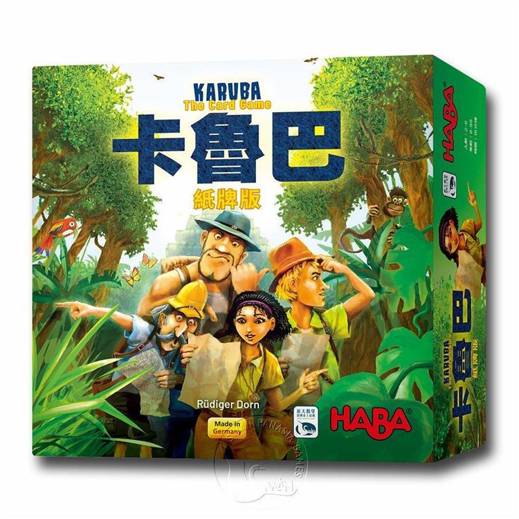 【新天鵝堡桌遊】卡魯巴紙牌版 Karuba: The Card Game