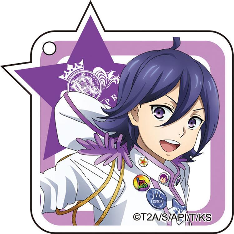 《星光王子》壓克力鑰匙圈-涼野結(紫)