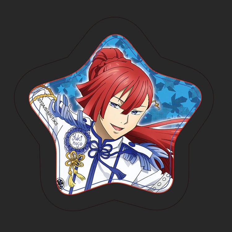 《星光王子》胸章-太刀花雪之丞(藍)