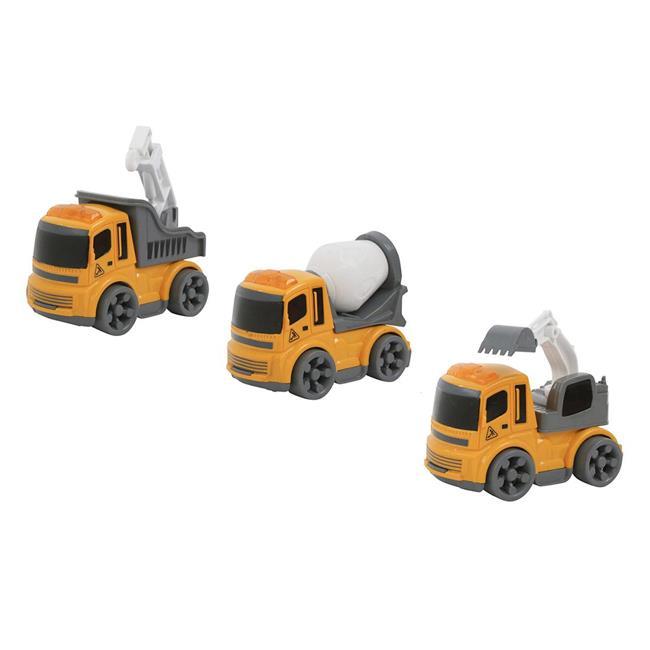 迴力工程車組 玩具車 工程車 迴力車