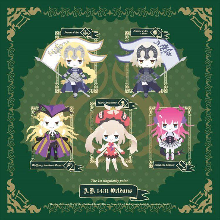 Fate日版抱枕套(綠色)