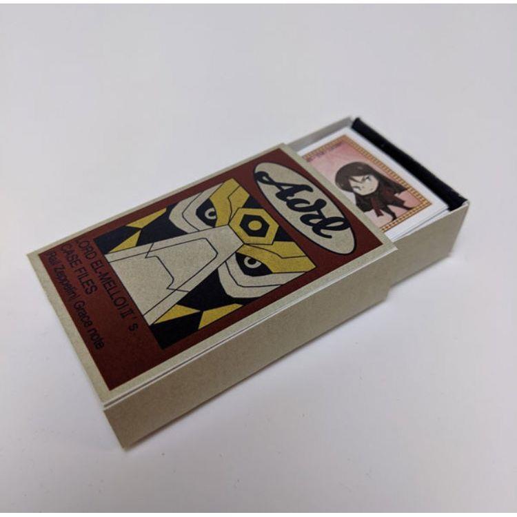 艾梅洛II世日版火柴盒造型便條紙