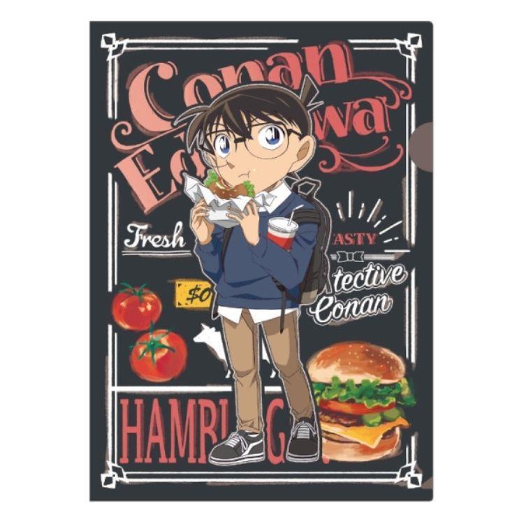 柯南日版文件夾餐點系列-柯南