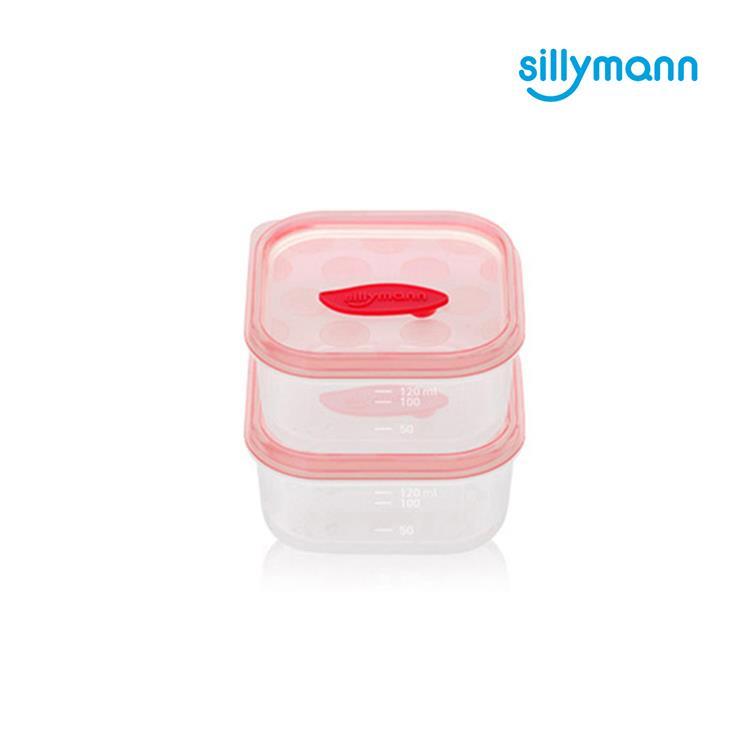 【韓國sillymann】 100%鉑金矽膠副食品保鮮盒(120ml)