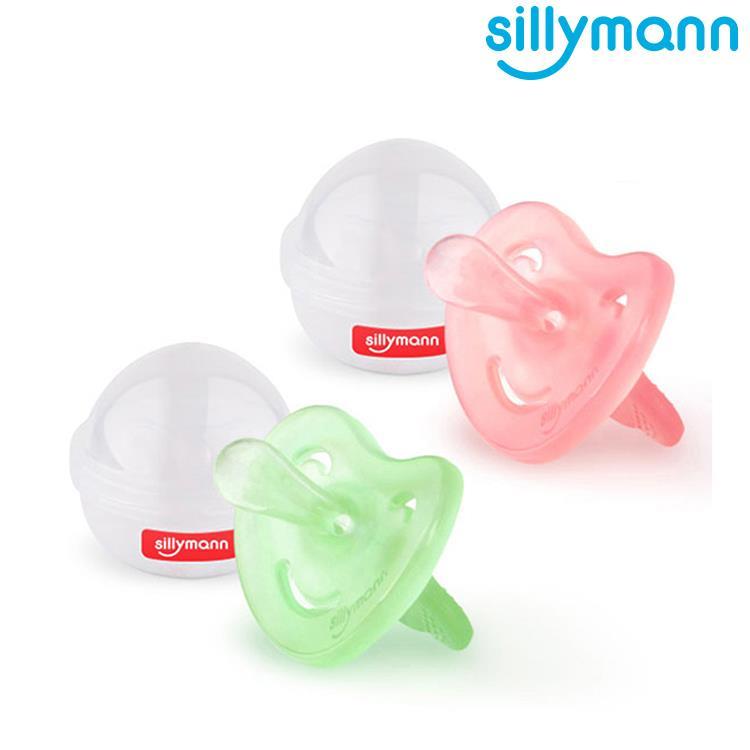 【韓國sillymann】 100%鉑金矽膠安撫奶嘴(0-4個月)-2入