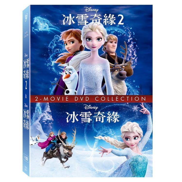冰雪奇緣 1+2 合集 DVD