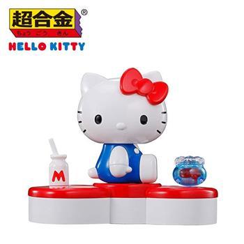 超合金 x 凱蒂貓45周年 公仔 模型 金屬玩具 合金公仔 Hello Kitty 萬代