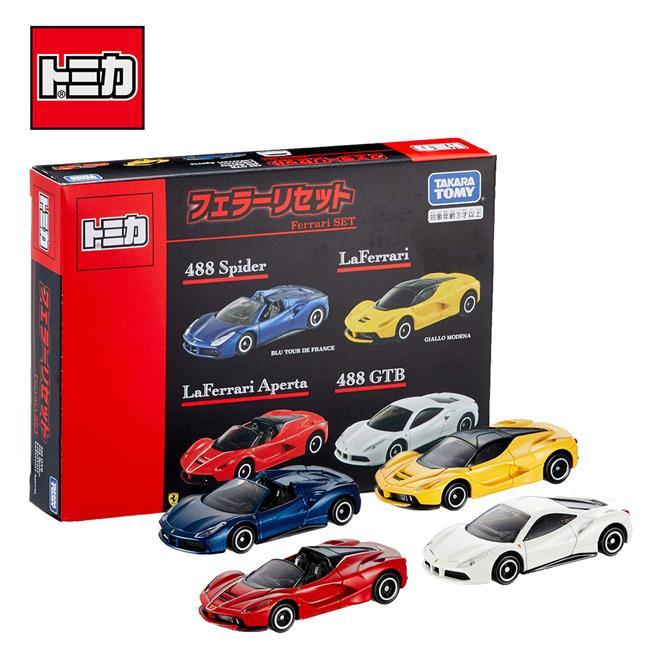 TOMICA 法拉利車組 玩具車 跑車 FERRARI 多美小汽車