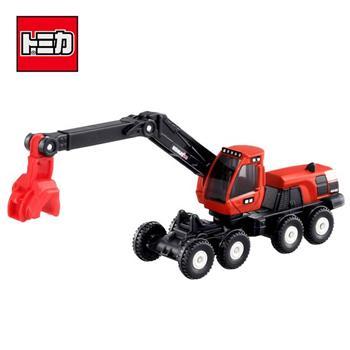 TOMICA NO.136 林業機械車 玩具車 KOMATSU 小松製作所 長盒 多美小汽車