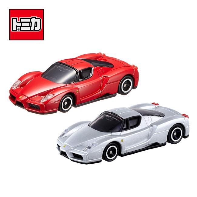 兩款一組 TOMICA NO.11 ENZO FERRARI 恩佐 法拉利 初回特別式樣 多美小汽車