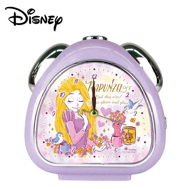 長髮公主 靜音鬧鐘 造型鐘 鬧鐘 指針時鐘 夜燈功能 樂佩 魔髮奇緣 迪士尼 Disney