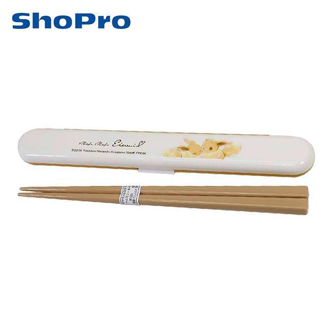 伊布 環保筷 日本製 附收納盒 筷子 18cm 寶可夢 神奇寶貝 OSK