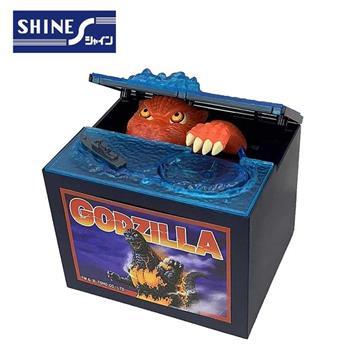 限定版 哥吉拉 偷錢箱 存錢筒 儲金箱 小費箱 恐龍 GODZILLA SHINE