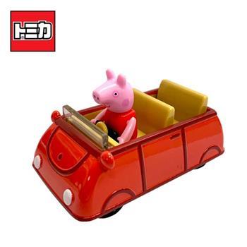TOMICA 騎乘系列 佩佩豬 x 家庭車 玩具車 Peppa Pig 粉紅豬小妹 多美小汽車