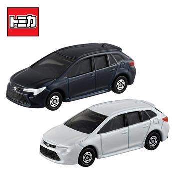 兩款一組 TOMICA NO.24 豐田 COROLLA 初回特別式樣 玩具車 多美小汽車