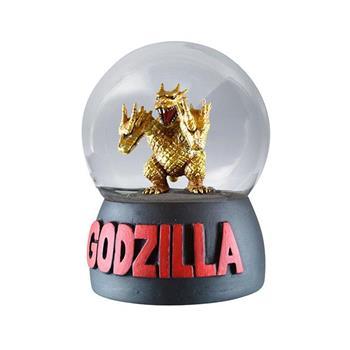 王者基多拉 水晶球 雪花球 擺飾 恐龍 GODZILLA 哥吉拉 平成哥吉拉