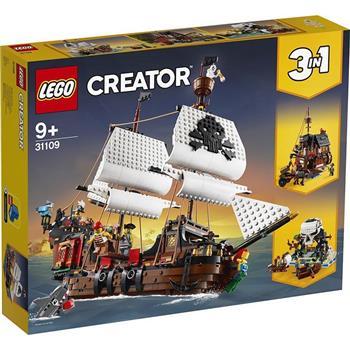 樂高積木 LEGO《 LT31109 》 創意大師 Creator 系列 - 海盜船