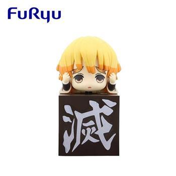 鬼滅之刃 我妻善逸 桌緣子 公仔 模型 桌緣公仔 10cm FuRyu