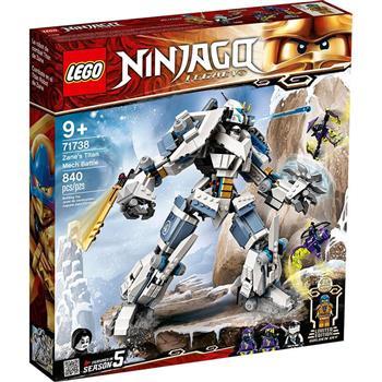 LEGO 樂高《LT71738 》NINJAGO 旋風忍者系列-冰忍的鈦機械人之戰