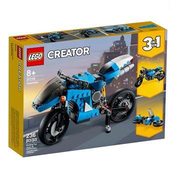 LEGO 樂高《LT31114 》三合一創意Creator 系列-超級摩托車