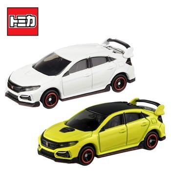 兩款一組 TOMICA NO.40 本田 CIVIC TYPE R Honda 玩具車 多美小汽車