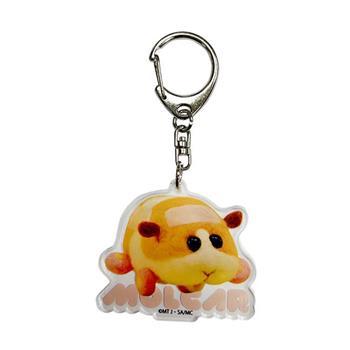 PUI PUI 天竺鼠車車 壓克力鑰匙圈 日本製 壓克力吊飾 鑰匙圈 吊飾 Molcar