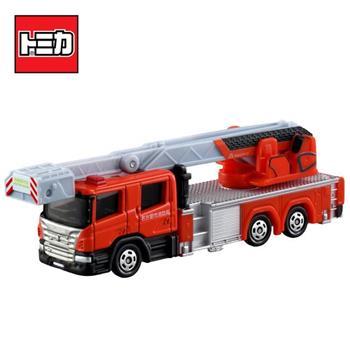 TOMICA NO.145 名古屋消防車 名古屋市消防局 消防車 雲梯車 玩具車 長盒 多美小汽車