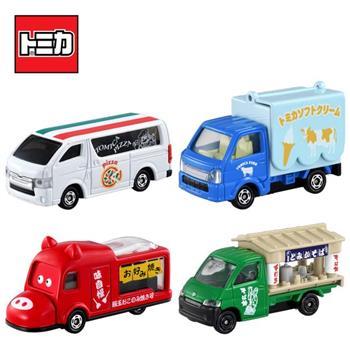 TOMICA 食物餐車車組 屋台車車組 餐車 屋台車 玩具車 多美小汽車