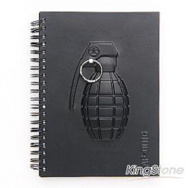 booxi 武器系列---手榴彈方格筆記本