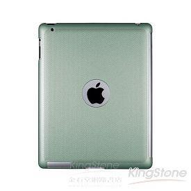 【Navjack】iPad2珠光硬殼背蓋_湖水綠