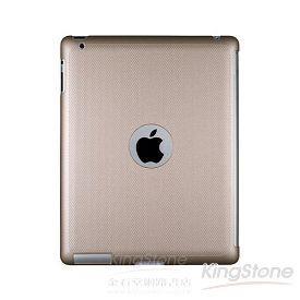 【Navjack】iPad2珠光硬殼背蓋_香檳金