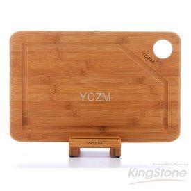 【la-boos】YCZM環保竹製廚具用品-有溝槽竹砧板(中型)
