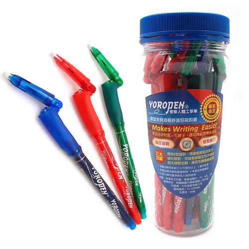 【YOROPEN】VI兒童HB鉛筆10支超值桶