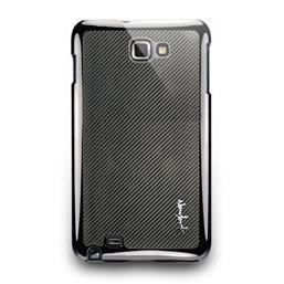 Galaxy Note-玻纖濺鍍保護背蓋-深灰色
