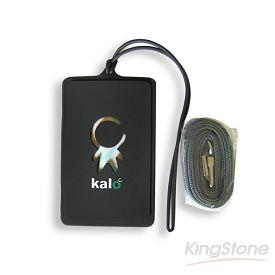 Kalo 卡樂創意 KaloPass行李吊牌/識別證套(黑)
