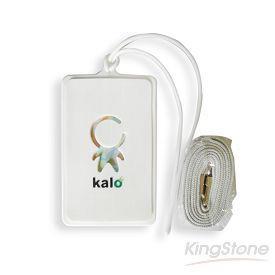 Kalo 卡樂創意 KaloPass行李吊牌/識別證套(白)