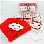 【輔大猴】蛋糕毛巾