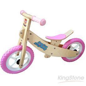 【Jimmy Bear】多功能兒童滑步平衡車(二輪車)-粉紅色