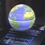 賽先生科學工廠-書本造型/飄浮地球儀(附定位環)