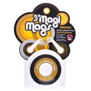 【3+ Magi Mags】磁鐵膠帶19mmx5M-經典金