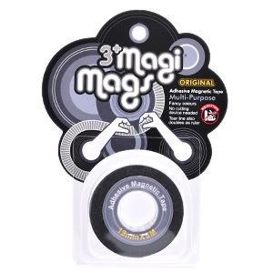 【3+ Magi Mags】磁鐵膠帶19mmx5M-經典銀