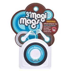 【3+ Magi Mags】磁鐵膠帶19mmx5M-霓虹藍