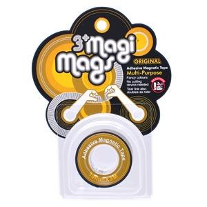 【3+ Magi Mags】磁鐵膠帶19mmx3M-經典金