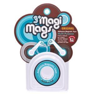 【3+ Magi Mags】磁鐵膠帶19mmx3M-霓虹藍